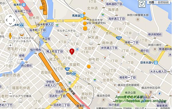 橫濱馬車道里士滿飯店 地圖.png