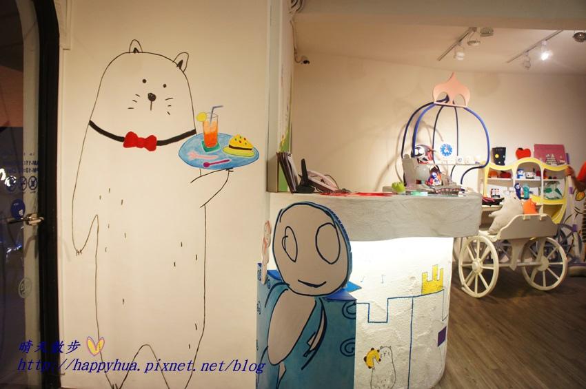 1437065760 4287768388 - [台中美食]à la sha Càfe台中旗艦店~充滿童趣插畫和外星人的親子友善餐廳 每個角落都吸睛 燉飯美味更加分