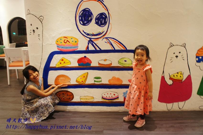 1437065764 1572421548 - [台中美食]à la sha Càfe台中旗艦店~充滿童趣插畫和外星人的親子友善餐廳 每個角落都吸睛 燉飯美味更加分