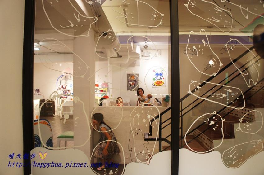 1437065769 3614874087 - [台中美食]à la sha Càfe台中旗艦店~充滿童趣插畫和外星人的親子友善餐廳 每個角落都吸睛 燉飯美味更加分