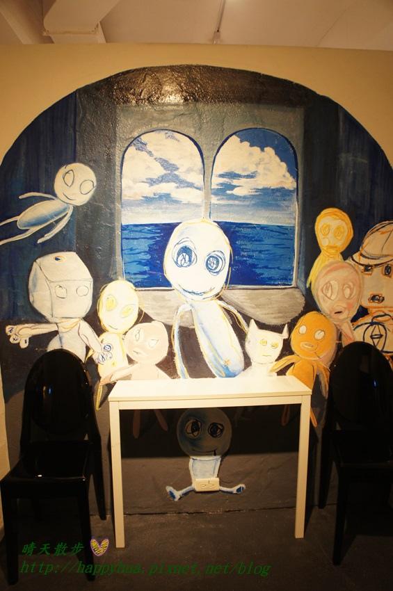 1437065781 4004803607 - [台中美食]à la sha Càfe台中旗艦店~充滿童趣插畫和外星人的親子友善餐廳 每個角落都吸睛 燉飯美味更加分