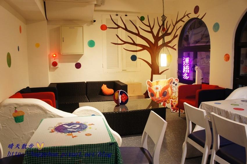 1437065783 3773556790 - [台中美食]à la sha Càfe台中旗艦店~充滿童趣插畫和外星人的親子友善餐廳 每個角落都吸睛 燉飯美味更加分