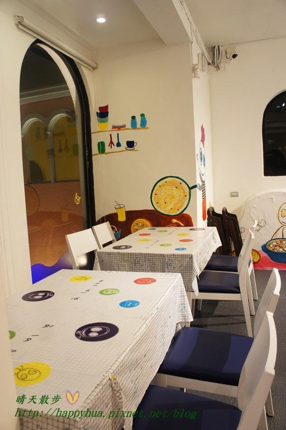 1437065794 3356495952 - [台中美食]à la sha Càfe台中旗艦店~充滿童趣插畫和外星人的親子友善餐廳 每個角落都吸睛 燉飯美味更加分