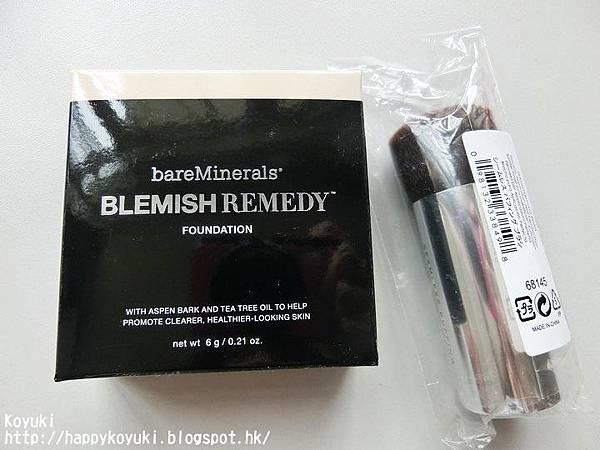 【彩妝】bareMinerals全新BLEMISH REMEDY Foundation礦物抗炎零毛孔粉底