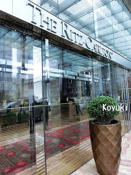 Koyuki愛旅遊❤上海悠閑之旅2015❤The Ritz-Carlton Shanghai, Pudong