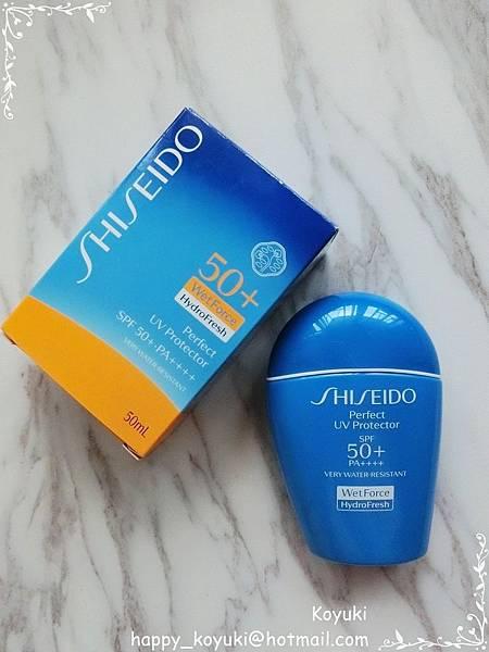 多重防禦和保護靠晒你啦!SHISEIDO Perfect UV Protector HydroFresh SPF50+ PA++++ ...