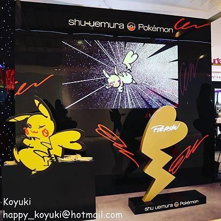 女生必愛!❤聖誕限量shu uemura x Pokémon聯乘系列❤