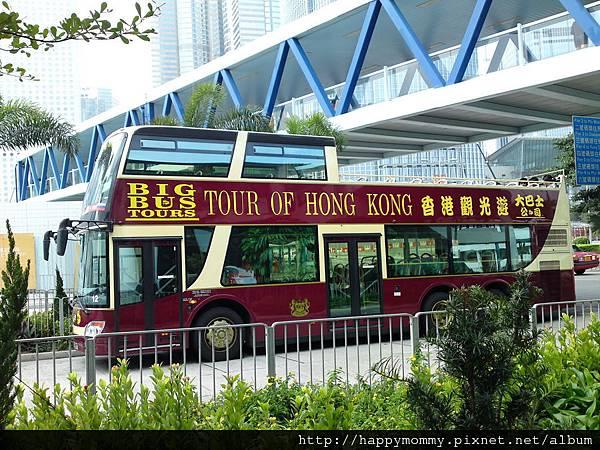 2011.02.27 香港行  BIG BUS 雙層巴士遊中環