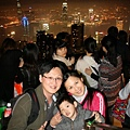 2011.02.27 香港親子遊 中環 太平山夜景