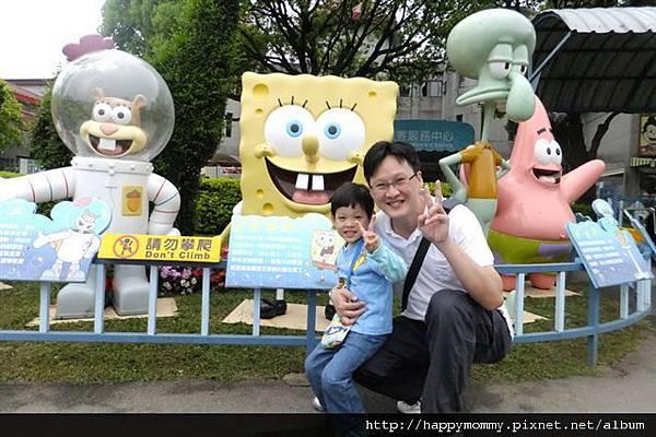 2012.04.15 六福村 海綿寶寶主題活動 (1)
