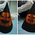 2012.10.26 萬聖節南瓜帽 DIY (1)