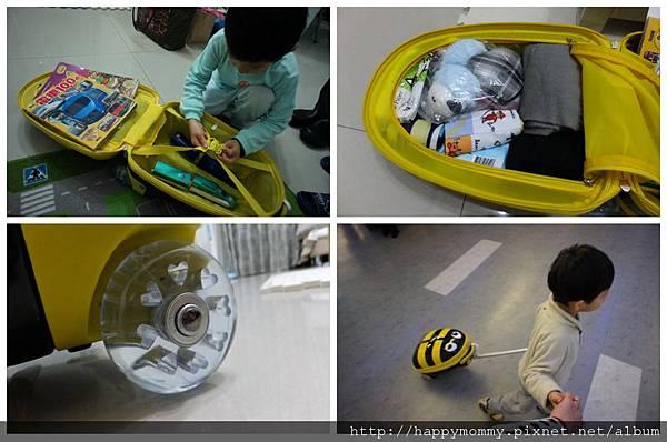 可愛兒童登機箱 造型登機箱