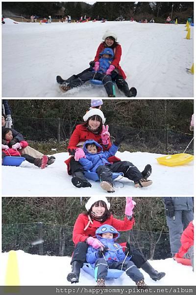 2012.12.23  六甲山人工滑雪場 滑雪盆