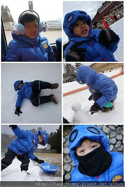 2012.12.23  六甲山人工滑雪場