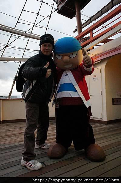2012.12.22 大阪周遊卡 遊大阪 聖瑪麗亞號 大阪港巡航 (6)