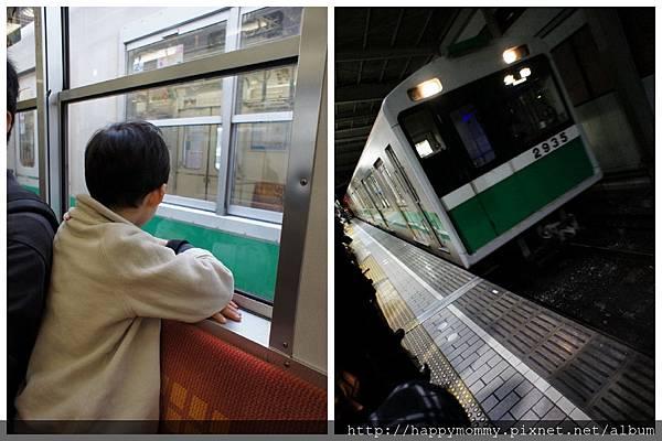 2012.12.22 搭地鐵JR線