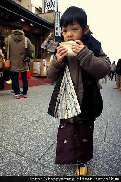2012.12.24 京都穿和服到清水寺 (3)