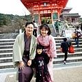 夢館和服體驗 京都和服變身逛清水寺
