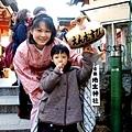 2012.12.24 京都 和服變身 地主神社