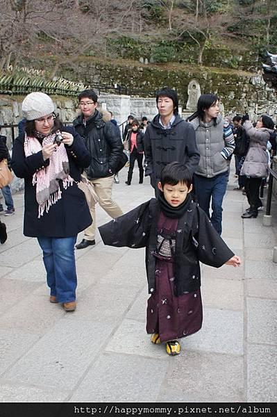 夢館小孩和服變身 京都和服變身逛清水寺