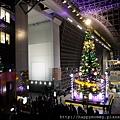 2012.12.24 京都耶誕夜 京都車站 耶誕樹 (4)