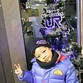2012.12.24 京都耶誕夜 京都車站 耶誕樹 (9)
