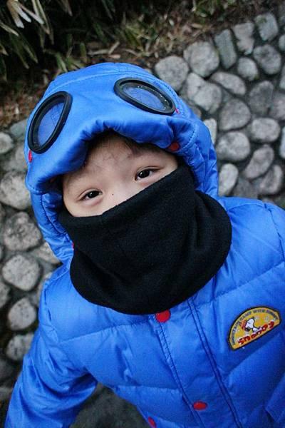 2012.12.23 小孩滑雪服裝 禦寒服裝