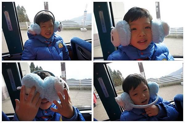 2012.12.23 六甲山滑雪場 滑雪套票 山上公車
