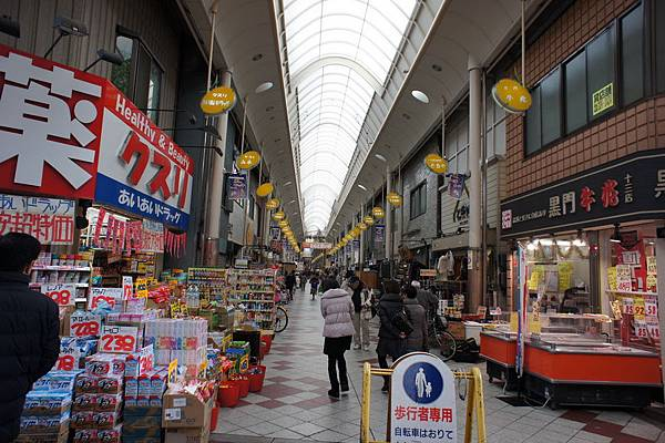 1. 2012.12.22 東橫 INN 阪急十三口周圍環境 (1)