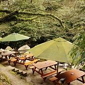 陽明山 台北奧萬大 親水餐廳溪畔午餐