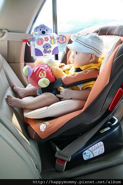 2008.09.07 奇哥 棒球兒童汽車安全座椅 (3)