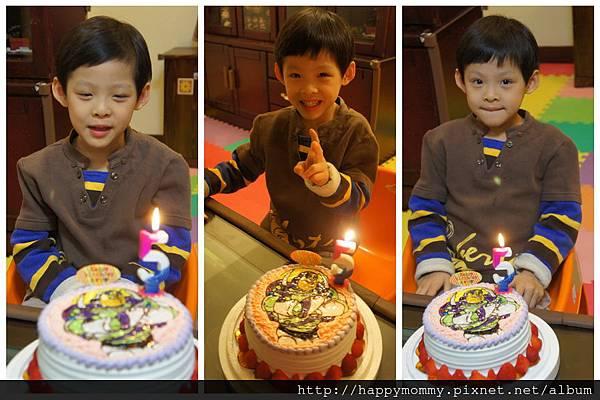 慶五歲生日 巴斯光年蛋糕 (2)