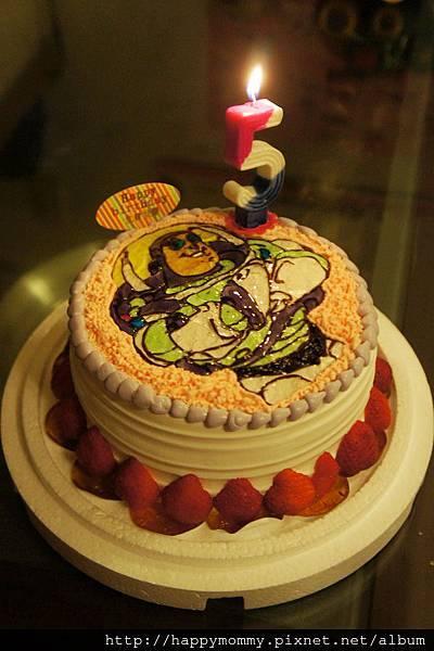 慶五歲生日 巴斯光年蛋糕 (3)