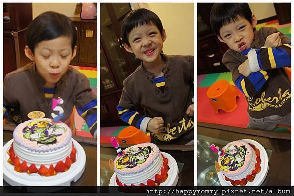 慶五歲生日 巴斯光年蛋糕 (1)