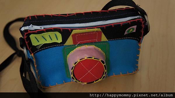 泰國禮物 手縫相機包包.JPG
