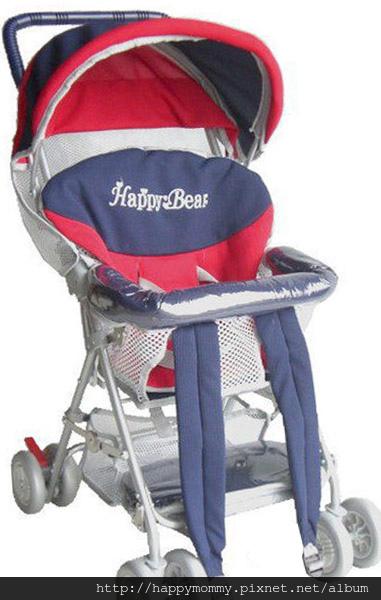 Happy Bear豪華透氣三用全罩式揹架車/機車椅