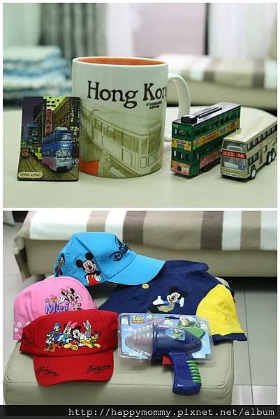 2011.02 香港親子遊 戰利品 (5)