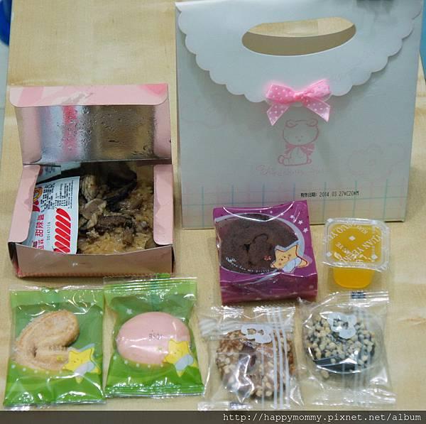 郭元益油飯彌月蛋糕試吃 (1)