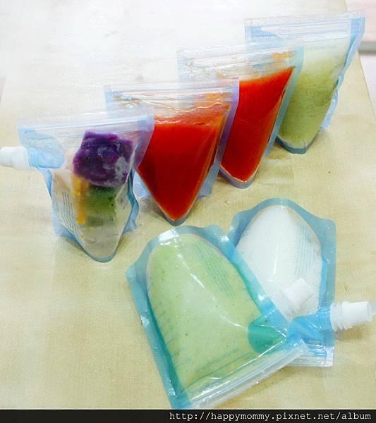 Cherub Baby外出用副食品袋&感溫湯匙 (10)