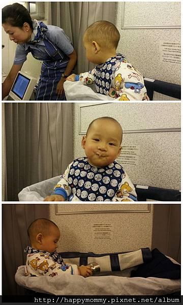 2015 東京跨年 桃園機場嬰兒搭ANA全日空 嬰兒車 嬰兒掛籃 (20).jpg