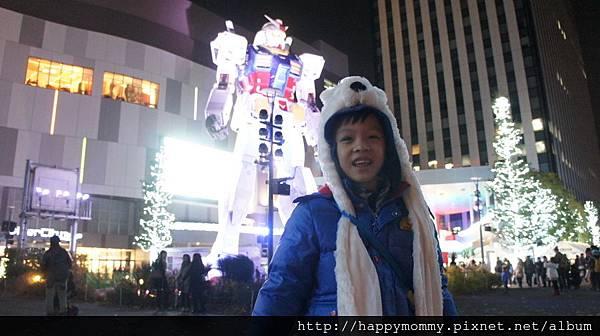 2014.03.31 台場Diver City看鋼彈 (5).JPG