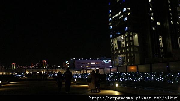 2014.03.31 台場夜景 彩虹橋 (28).JPG