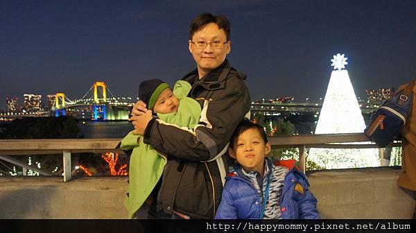 2014.12.31 之2 台場AquaCity 夜景 彩虹橋 (23).JPG
