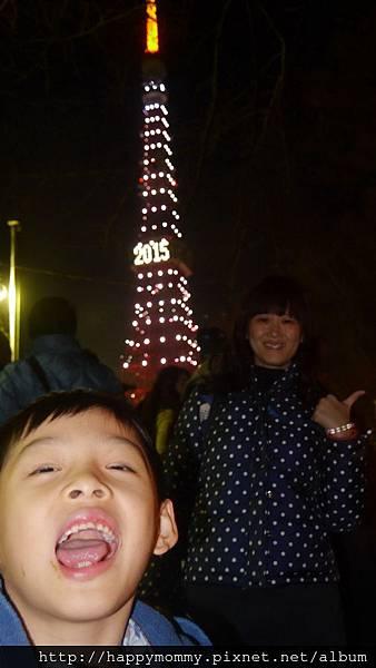 2014.12.31 之4 登東京鐵塔 增上寺跨年 (98).JPG