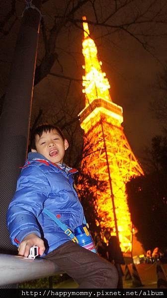 2014.12.31 之4 登東京鐵塔 增上寺跨年 (10).JPG