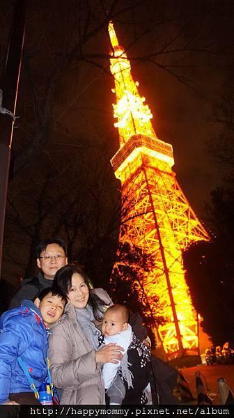 2014.12.31 之4 登東京鐵塔 增上寺跨年 (18).JPG