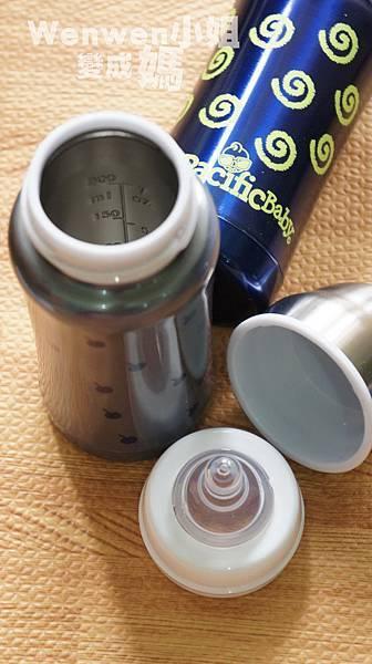 Pacific Baby 美國不鏽鋼保溫太空瓶  不鏽鋼奶瓶 (7).JPG