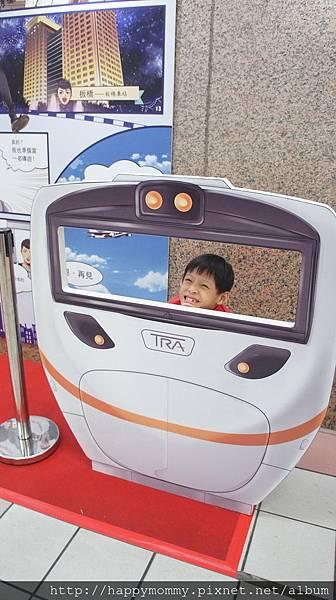 2015.11.22 台北車站 日本東京 精及台鐵友好締結 火車模型展(3).JPG
