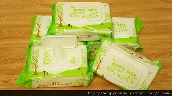 2016.04 Happy Bebe超純水濕紙巾 (4).JPG