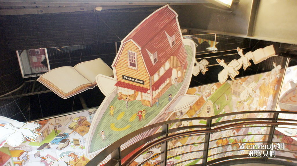 國美館台中國家美術館藝想號兒童繪本區